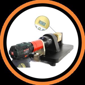 Transductor para banco de pruebas y calibración de llave de torque