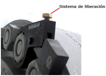 Sistema de liberación especial, accesorio de seguridad