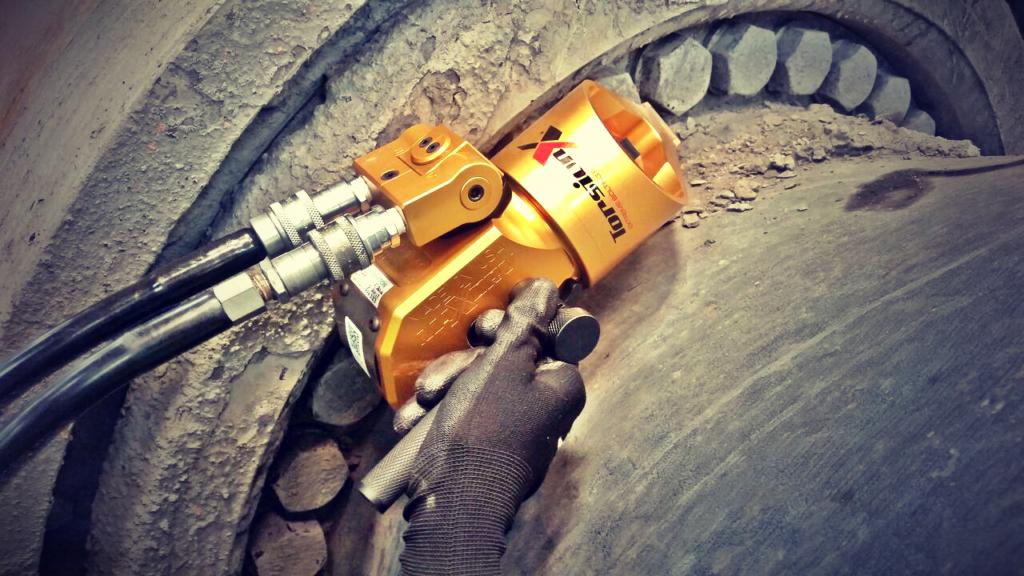 Llave de torque hidráulico TorsionX