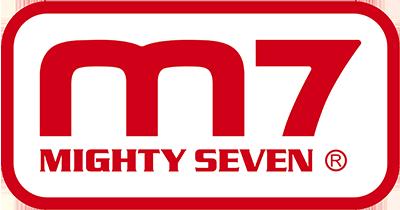 Logo Mighty Seven de llave de impacto neumática